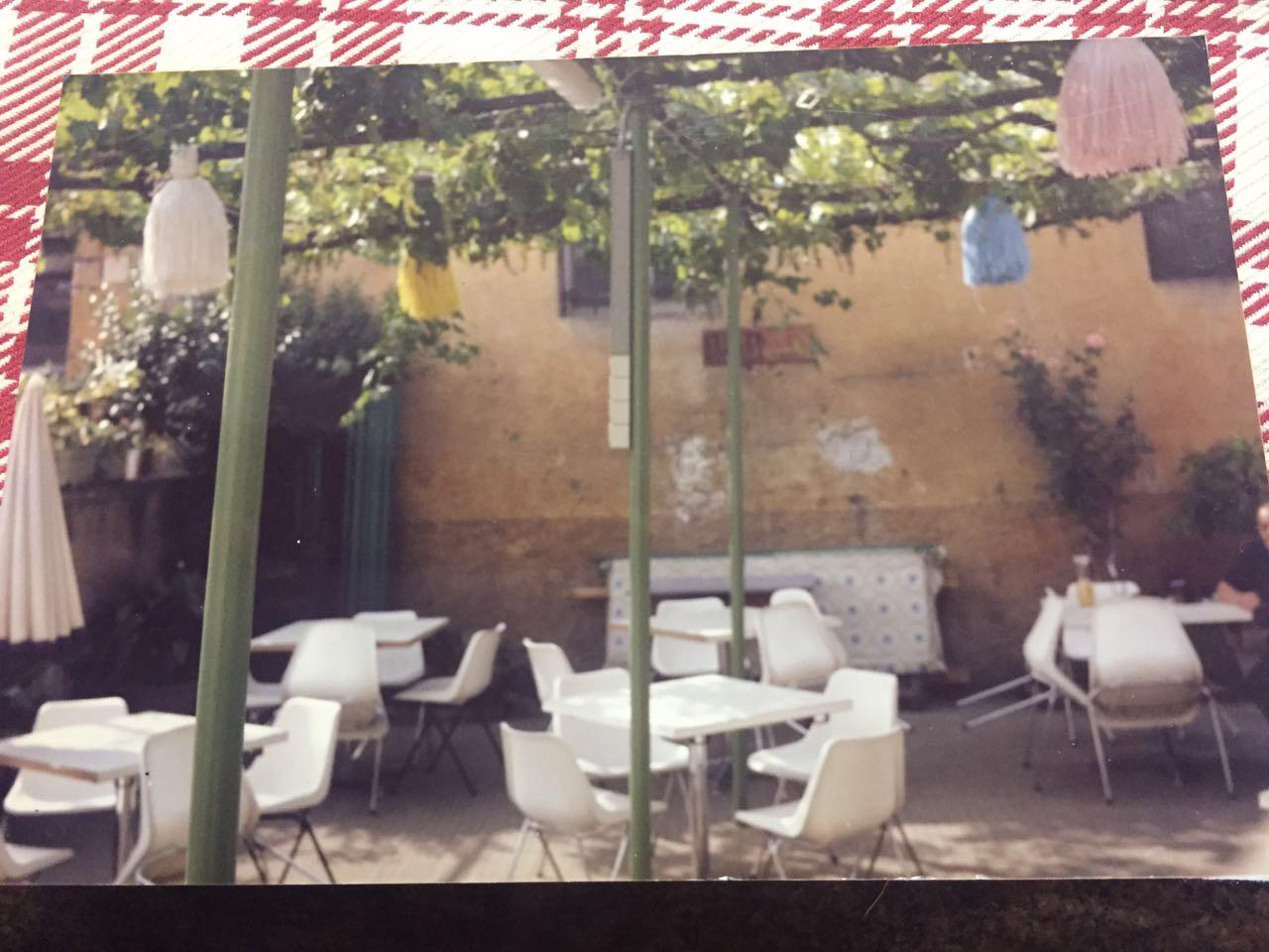 Giardino interno ristorante dal cordaro - Giardino interno ...